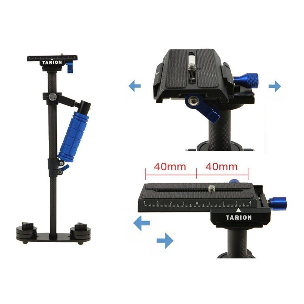 TARION Schwebestativ Glidecam Flycam Stadicam für Kompakt Kamera/DSLR/Video